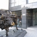 The Bull in Front of the Bulgarian Stock Exchange in Sofia